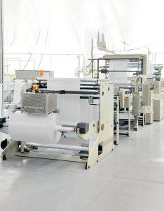 Produkcja melt blown